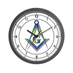 Masonic Ring Wall Clock