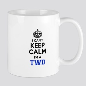 I can't keep calm Im TWD Mugs