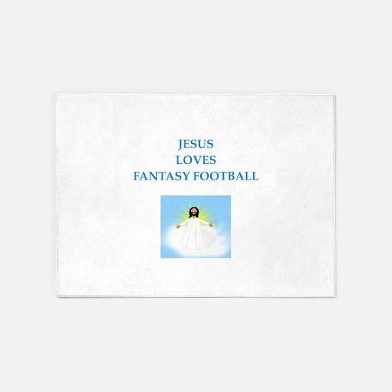 fantasy 5'x7'Area Rug