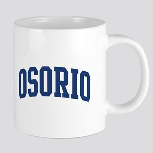 OSORIO design (blue) Mugs