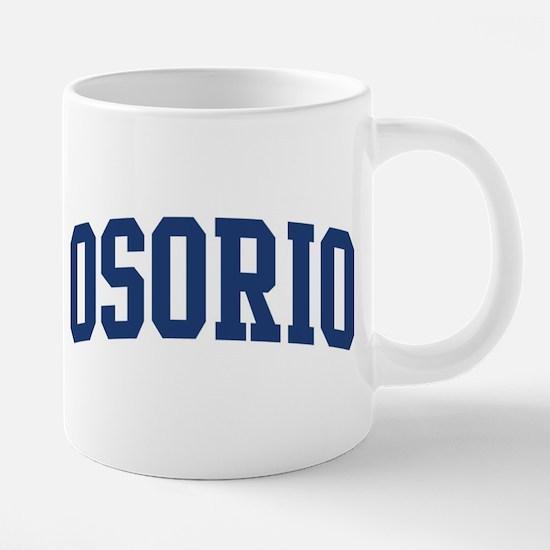 OSORIO design (blue) Mugs