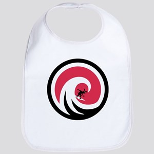 Wave Hound Circle Bib