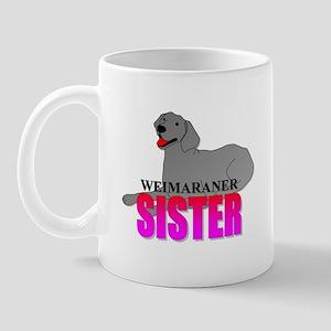 Weimaraner Sister Mug