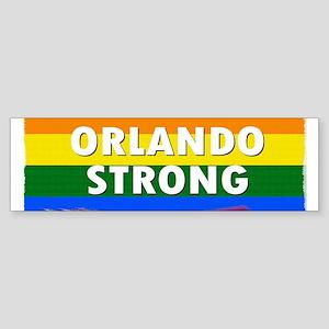 ORLANDO STRONG PRIDE Bumper Sticker