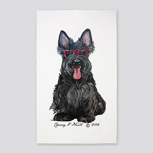 Summer Scottie Area Rug