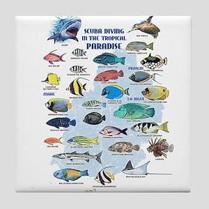 Aquarium Tile Coaster