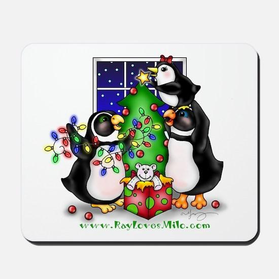 Family Christmas Mousepad