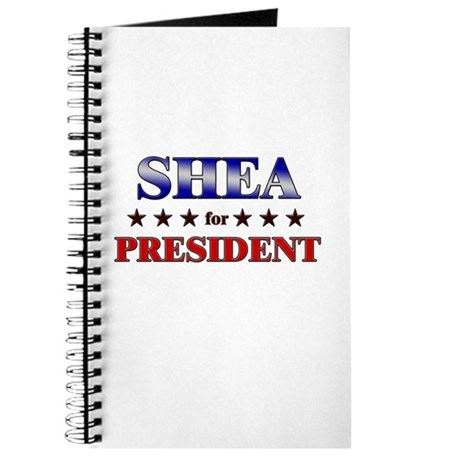 SHEA for president Journal
