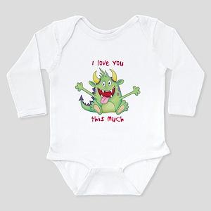 Valentine Monster Infant Bodysuit Body Suit