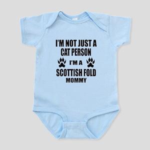 I'm a Scottish Fold Mommy Infant Bodysuit