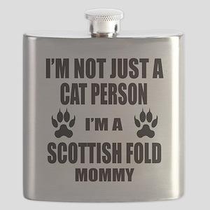 I'm a Scottish Fold Mommy Flask