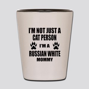 I'm a Russian White Mommy Shot Glass