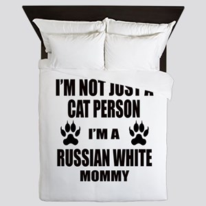 I'm a Russian White Mommy Queen Duvet