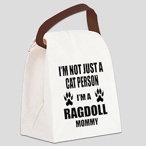 I'm a Ragdoll Mommy Canvas Lunch Bag
