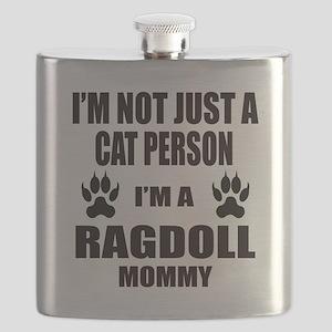 I'm a Ragdoll Mommy Flask