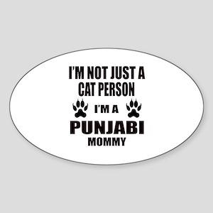 I'm a Punjabi Mommy Sticker (Oval)