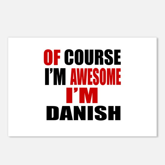 Of Course I Am Danish Postcards (Package of 8)
