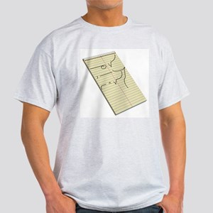 Legible Shorthand Light T-Shirt