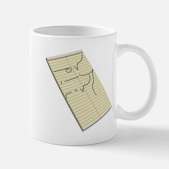 Legible Shorthand Mug