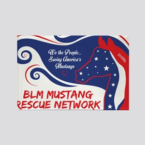BLM Mustang Rescue Network Magnets