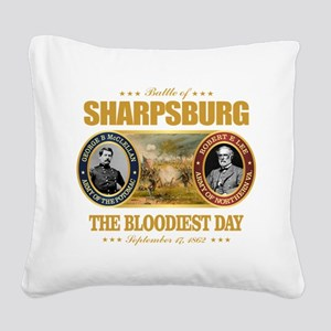 Sharpsburg Square Canvas Pillow