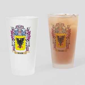 Auger Coat of Arms (Family Crest) Drinking Glass