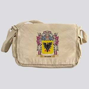 Auger Coat of Arms (Family Crest) Messenger Bag