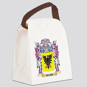 Auger Coat of Arms (Family Crest) Canvas Lunch Bag