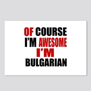 Of Course I Am Bulgarian Postcards (Package of 8)