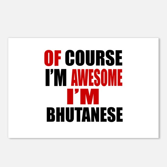 Of Course I Am Bhutanese Postcards (Package of 8)