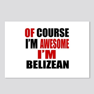 Of Course I Am Belizean Postcards (Package of 8)