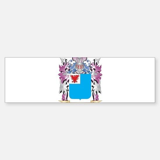 Avery Coat of Arms (Family Crest) Bumper Bumper Bumper Sticker