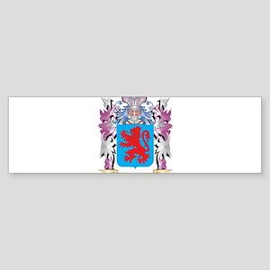 Avila Coat of Arms (Family Crest) Bumper Sticker