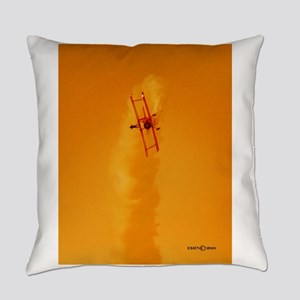 Wingwalker 1 orange(signed) Everyday Pillow