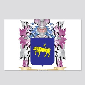 Baca Coat of Arms (Family Postcards (Package of 8)
