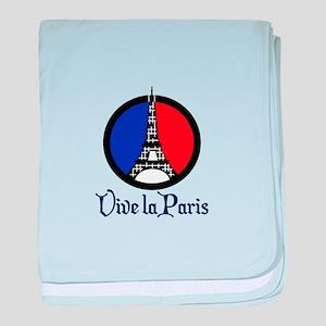 Vive La Paris baby blanket