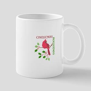 Cardinal Christmas Blessings Mugs