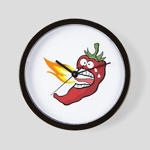 Hot Chili Pepper Wall Clock
