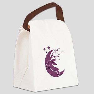 Bunny Moon Canvas Lunch Bag