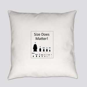 Size Does Matter Everyday Pillow
