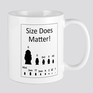 Size Does Matter Mugs