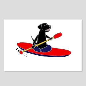 Kayaking Dog Postcards (Package of 8)