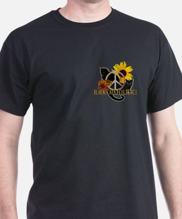 Black Cats for Peace T-Shirt