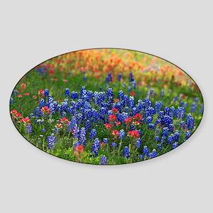 Evening Wildflowers Sticker