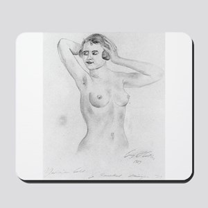 hitler art Mousepad