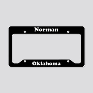 Norman OK License Plate Holder