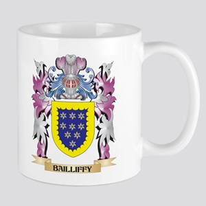 Bailliffy Coat of Arms (Family Crest) Mugs