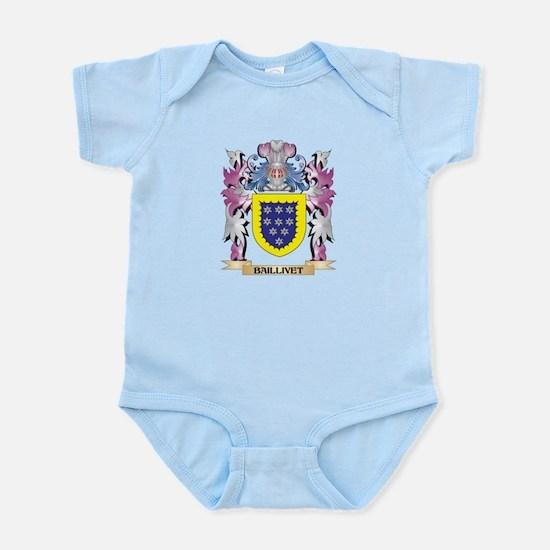 Baillivet Coat of Arms (Family Crest) Body Suit