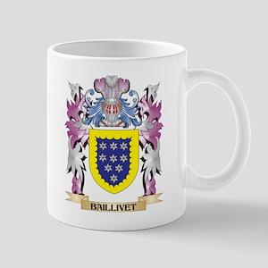 Baillivet Coat of Arms (Family Crest) Mugs