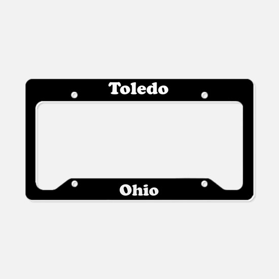 Toledo OH License Plate Holder